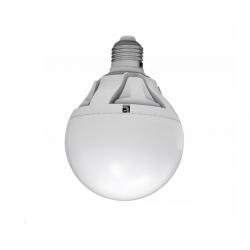 Λάμπα led globe Ø 105mm E27 αλουμινίου μάτ 15watt 230v ντιμαριζόμενη 1390 lumen ψυχρό λευκό 6400Κ