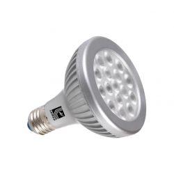 Λάμπα led ισχύος par30 E27 16watt 230v δέσμης 35° 1300 lumen ψυχρό λευκό 6000Κ Ø 95mm