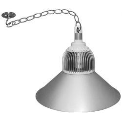 Καμπάνα led βιομηχανική αλουμινίου με 3led 30watt 230v με σκιάδα 100° φυσικό λευκό 4200Κ 3300lumen
